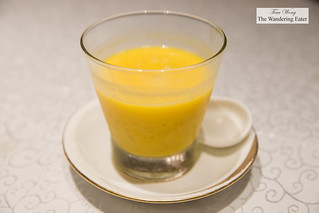 Chilled mango sago cream with pomelo | by thewanderingeater