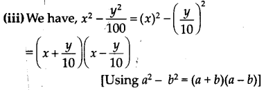 NCERT Solutions for Class 9 Maths Chapter 2 Polynomials Ex 2.5 A3
