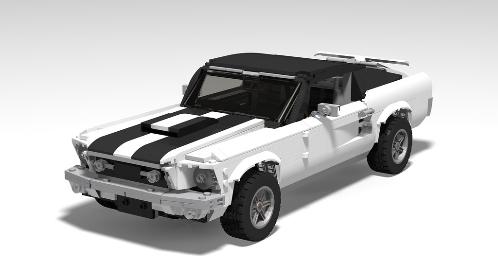 LEGO 10265 Ford Mustang 'Ski Country' edition - White/Blac… | Flickr