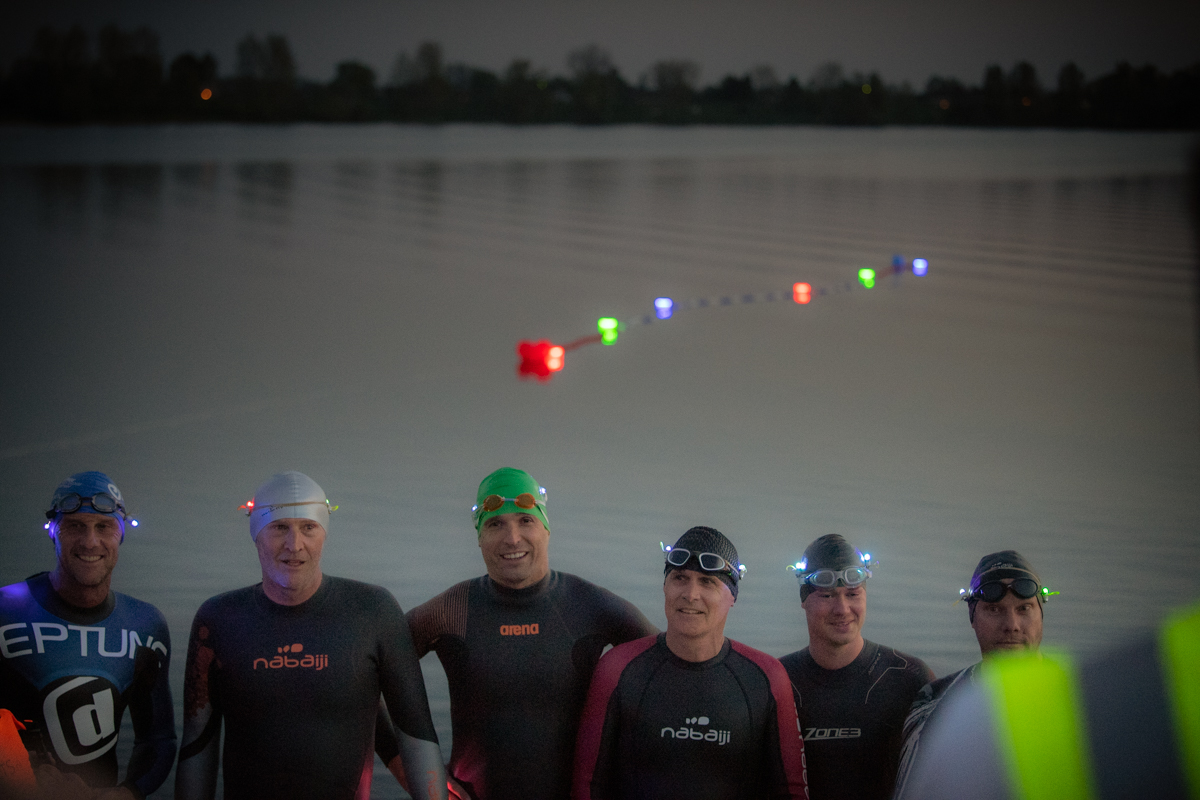 Night Swim Test Zwem voor KWF