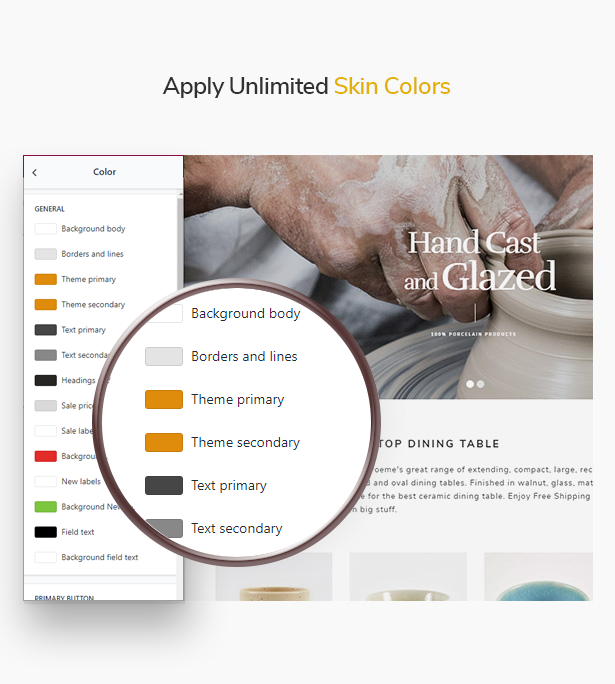 Ap Poeme Elegant & Professional Versatile Shopify Theme - Unlimited Skin Colors