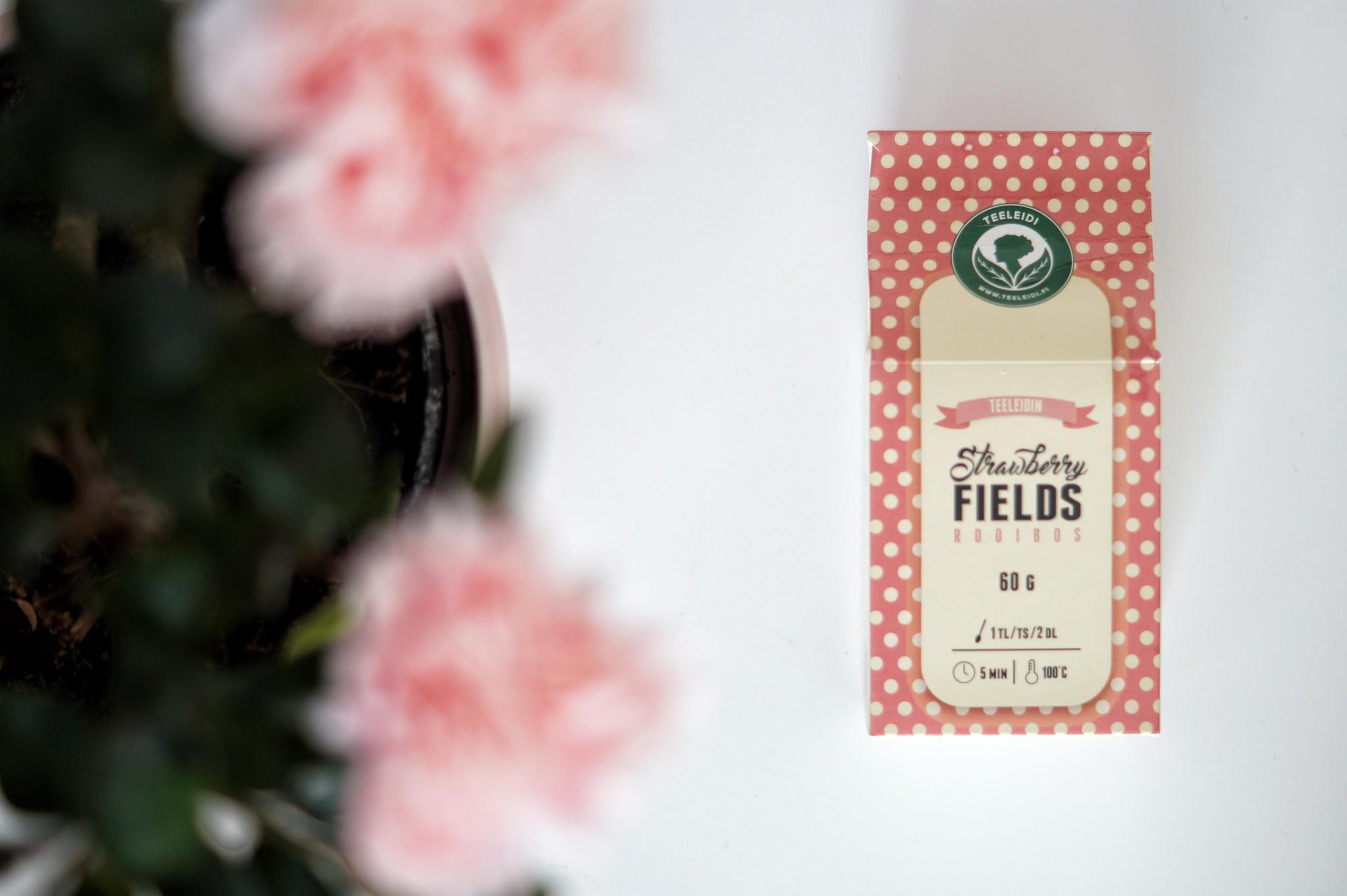 teeleidi mansikkatee