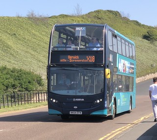 Arriva North East 7529 NK64 EFM (22/04/2019)