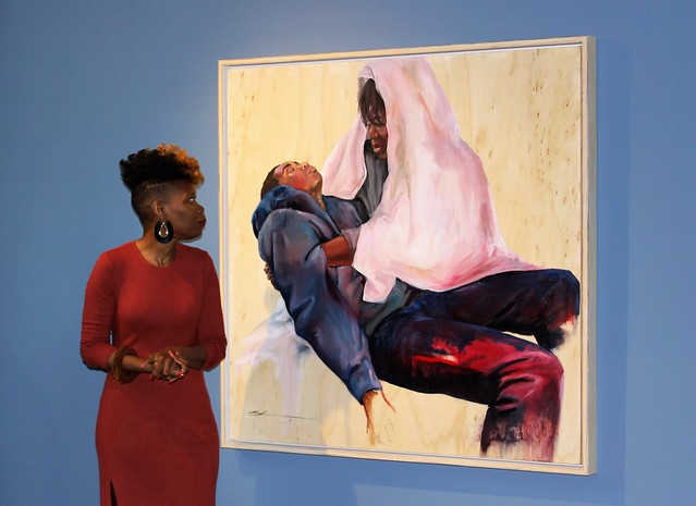 Students, OUMA unveil painting acquisition