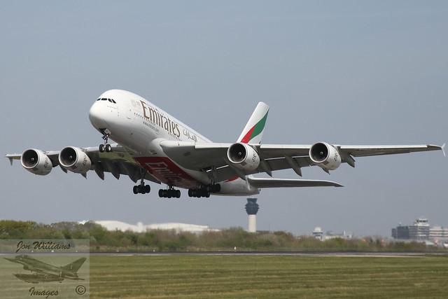 Emirates Airbus A380-842