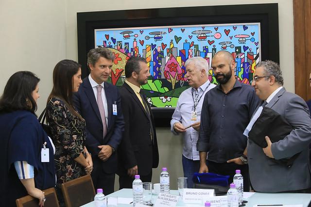 05.02.2019 - Diretoria da OAB SP faz reunião com prefeito Bruno Covas