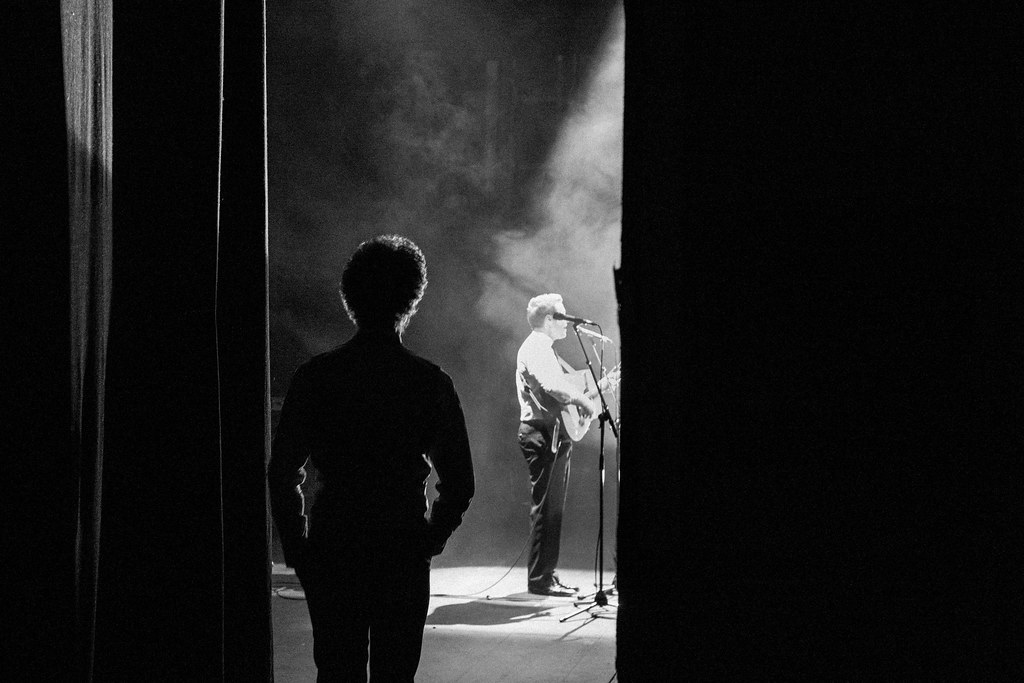 The Simon & Garfunkel Story - Back stage