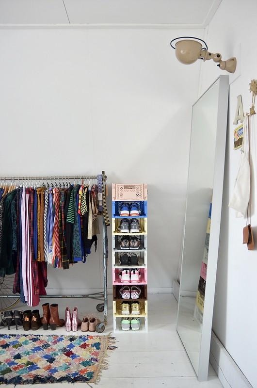 sneaker storage