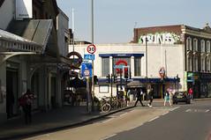 Outside Balham train tube station