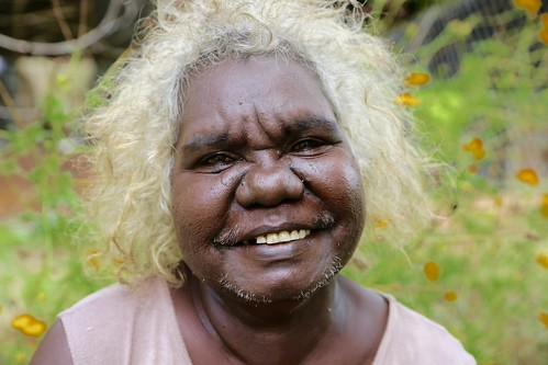 Lena Yarinkura of Maningrida Arts and Culture. Image courtesy of Maningrida Arts and Culture