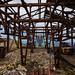 Abandoned ski lifts, Brezovica, Kosovo