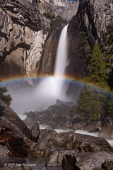 Lower Yosemite Fall Moonbow