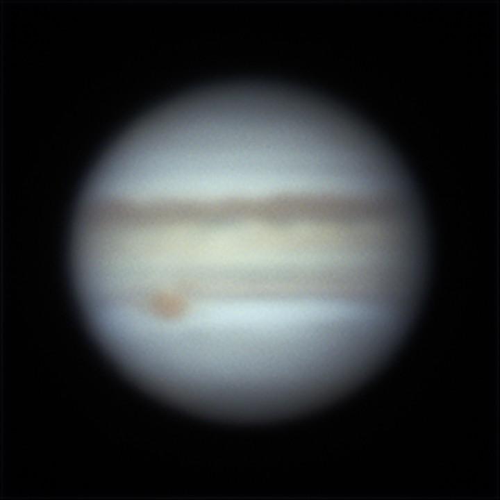 木星 (2019/4/16 03:39-03:41) (1000/3000 x 4 derotation)