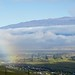 Rainbow, Mauna Kea Observatories, Clouds DSC_0170