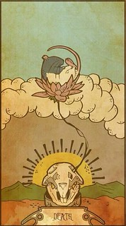 Tarot Cards : Death – Rat tarot card | by invoguedottn