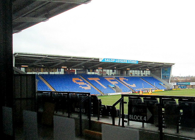 South Stand, New Meadow Stadium, Shrewsbury