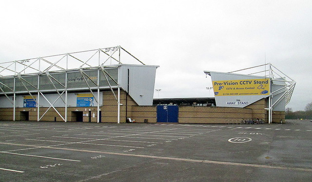 Main and North Stands, New Meadow Stadium, Shrewsbury