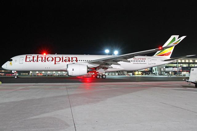 Ethiopean Airlines Airbus A350-941 ET-AUB
