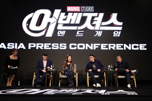 Marvel Studios' 'Avengers: Endgame' South Korea Premiere - Filmmakers Press Conference In Seoul | by garethvk