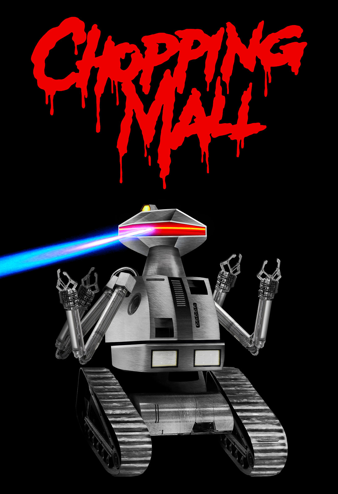 AERON ALFREY - CHOPPING MALL POSTER