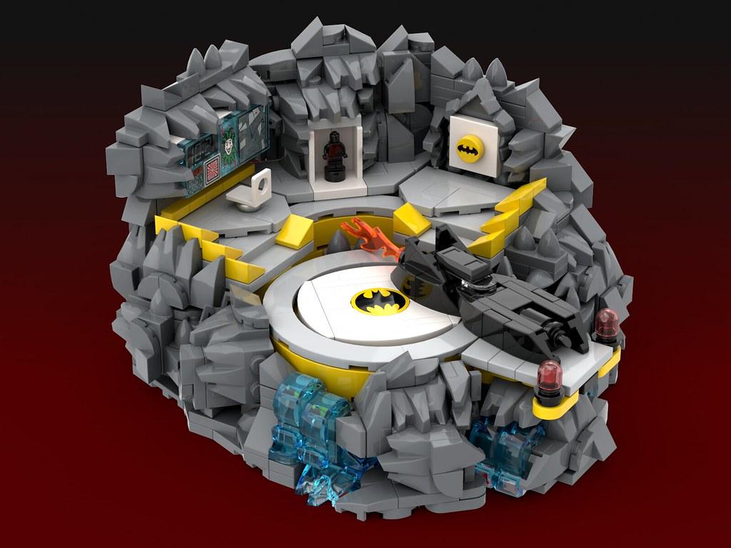 Batmobile Micro Moc