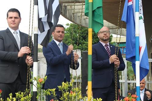 Hasteamento da Bandeira - Itanhaém 487 anos