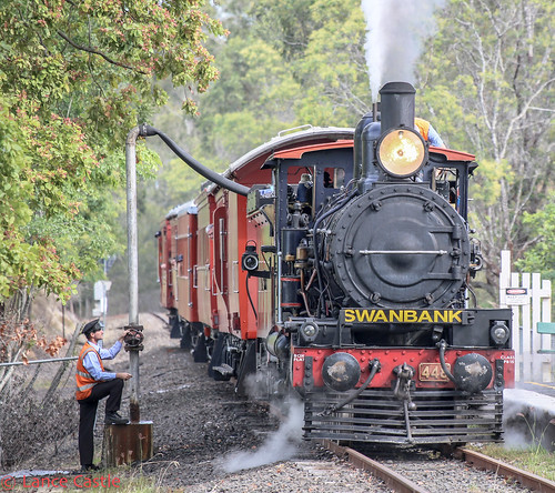 Swanbank water top up for steam train. | by Lance CASTLE