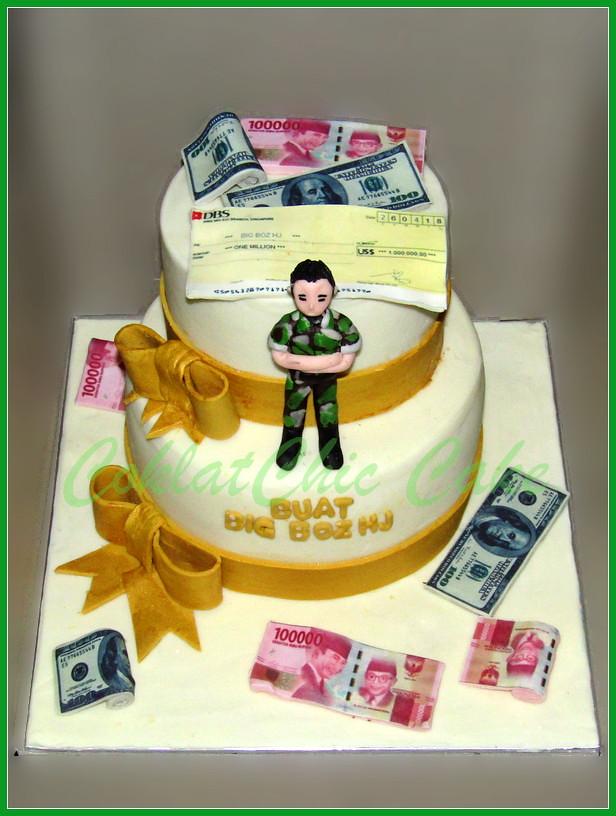 Cake money Big Boz NJ 15/12 cm