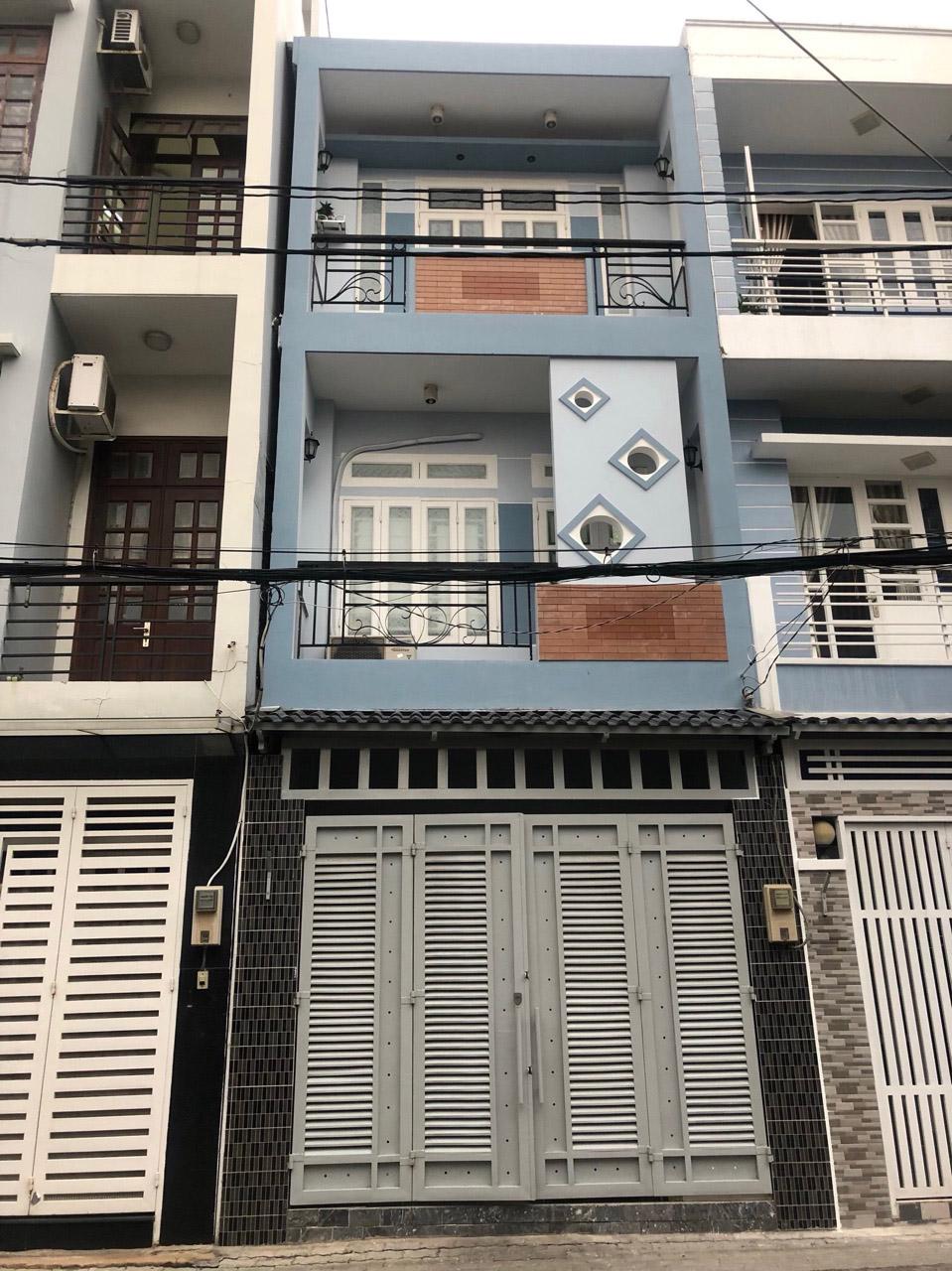 Bán nhà đường 15, khu Lâm Văn Bền - cư xá Ngân hàng, phường Tân Thuận Tây, quận 7.
