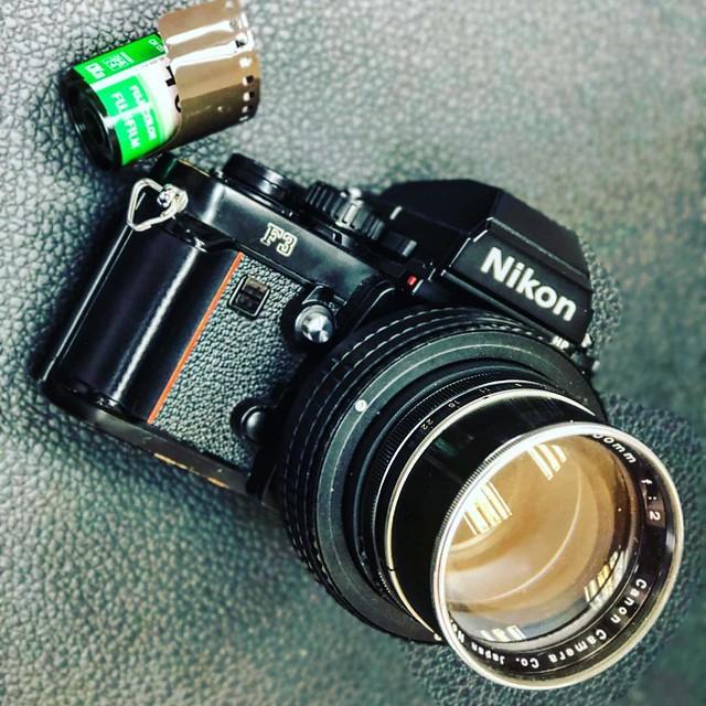 Canon 100mm f2 LTM 重曝重劍