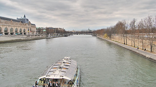 Boat on Seine