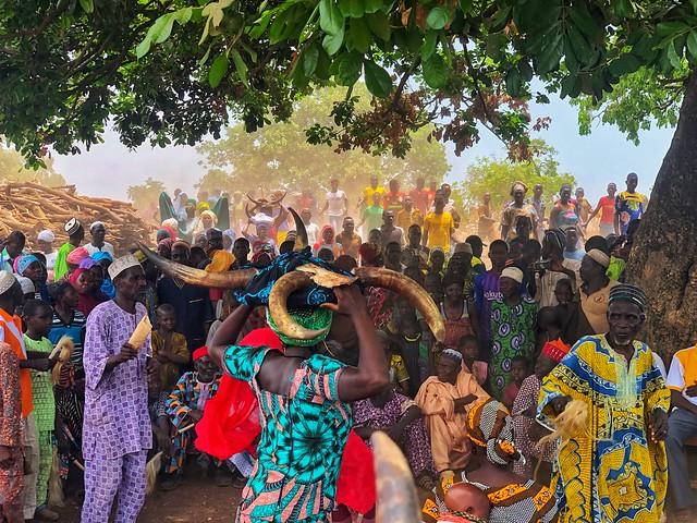 Fiesta Taneka en Benín