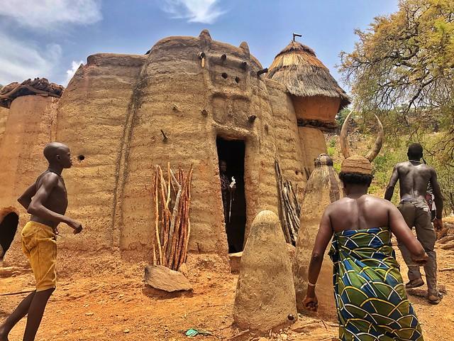 País Somba en Togo (Tata-Somba)