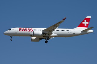 Swiss International Airlines Bombardier CSeries CS300 HB-JCH | by sloppyperfectionist