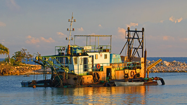 the dredger - Playa Pesquero, Holguin, Holguín Province, Cuba - Feb 2019