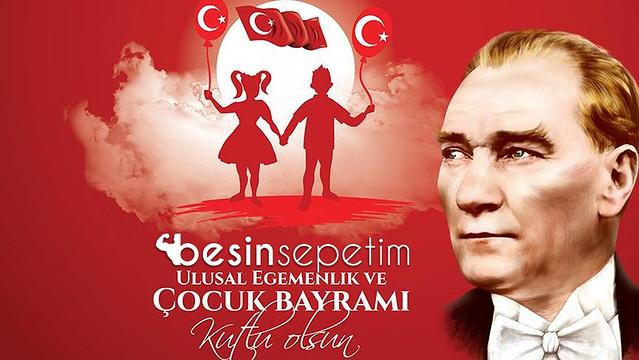 23 Nisan Ulusal Egemenlik Çocuk Bayramı