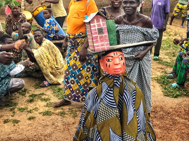 Máscara Gelede en Benín