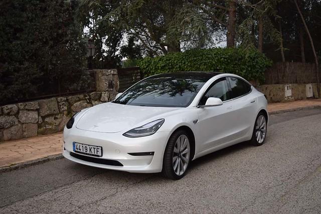 Tesla Model 3 Prueba