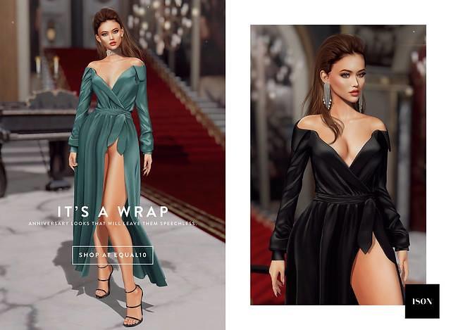 ISON - Angelina Dress @ equal10 - TeleportHub.com Live!
