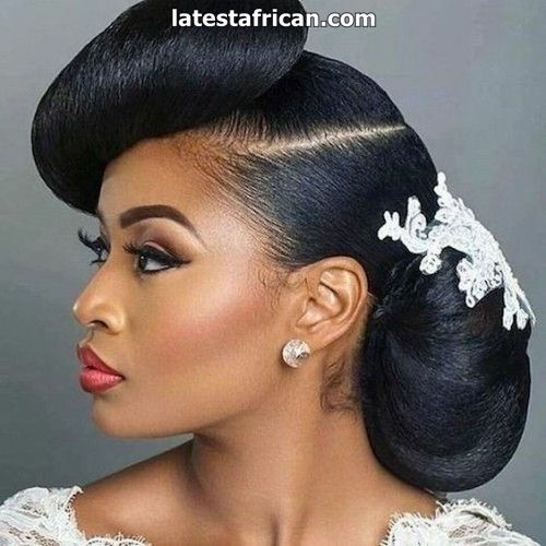 Wedding Hairstyles Effective Ideas For Black Women Latest African