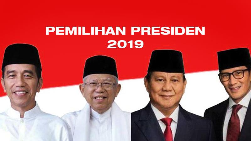 Ini Hasil Quick Count Pemilihan Presiden 2019