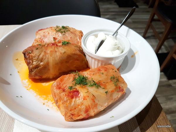 Golubtsy (cabbage rolls)