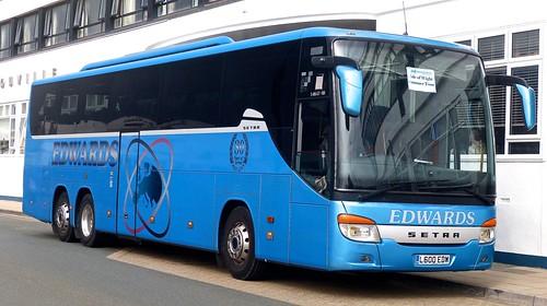 L600 EDW 'Edwards'. Llantwit Fardre, Wales. Setra S416GT-HD on Dennis Basford's railsroadsrunways.blogspot.co.uk'