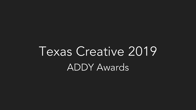 2019 Texas Creative ADDY Awards