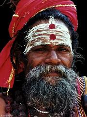 Nepal - Retrato de un Sadhu