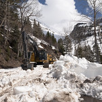 Glacier National Park snow removal equipment