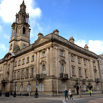 Preston Town Hall and court buildings