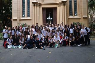 Colégio Mackenzie visita FCM/Santa Casa