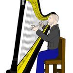 Jon Bernthal as The Punisher performing harp music