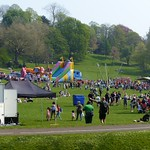 Egg rolling on Avenham Park, Preston